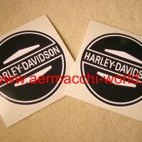 Reproduction Gas Tank Decals for a Aermacchi HD M-50 (1965) 61770-65PA